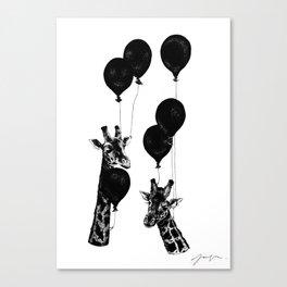 Party Animals Canvas Print