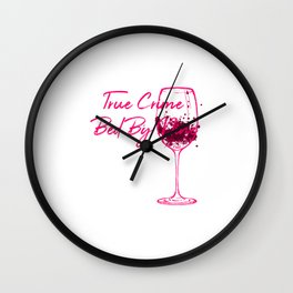 True Crime Bed By Nine Cute Passionate Mystery Detective Wall Clock