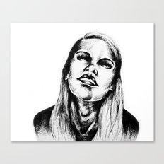 Head Back Canvas Print