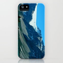 On the Road through The Rockies iPhone Case