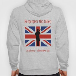 Remember the fallen Hoody