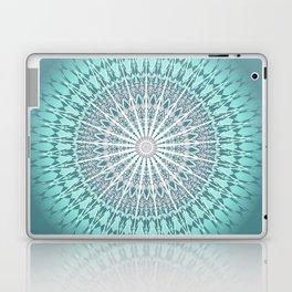 Teal Mandala Medallion Laptop & iPad Skin