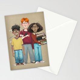 Dorky Kids Go To Private School Stationery Cards
