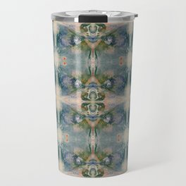 Blossom Pattern Travel Mug
