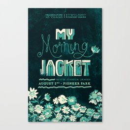 My Morning Jacket Canvas Print