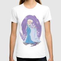 elsa T-shirts featuring Elsa by LarissaKathryn