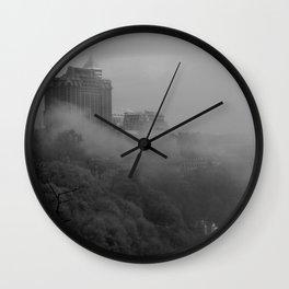 Niagara In Mist Wall Clock