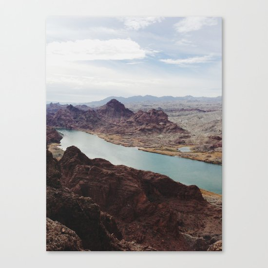 The Colorado River Canvas Print