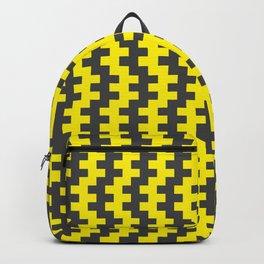 Stripe Dancer Yellow Backpack
