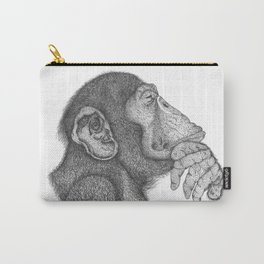 The thinker monkey Carry-All Pouch