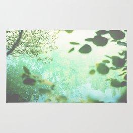 Green softness No1 Rug