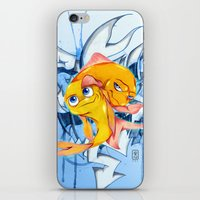 bucky iPhone & iPod Skins featuring Bucky & Ace by Paz Art