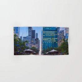 Bryant Park New york at dusk Hand & Bath Towel