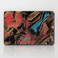 swimming iPad Cases featuring Swimming by Sabrina Kee