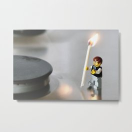 Live on the wild side Metal Print