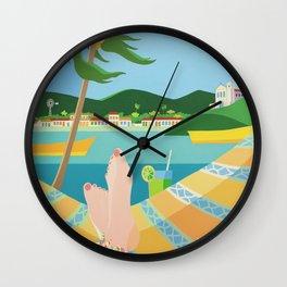 VACATION Wall Clock