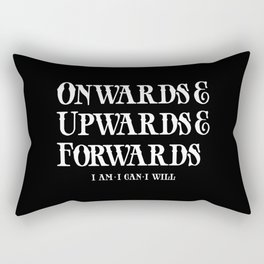 Onwards&Upwards&Forwards. Rectangular Pillow