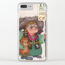 Still Protesting Womans March Clear iPhone Case