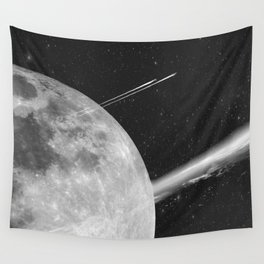 Space Mission-Hyperloop Wall Tapestry