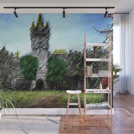 Abandoned Castle Landscape by Jeanpaul Ferro Wall Mural