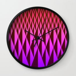 Foreign Wood Wall Clock
