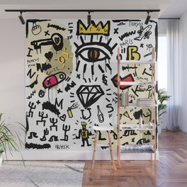 SLAVE ONLY DREAMS TO BE KING Wall Mural