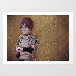 Resident Evil - Rebecca Chambers Tribute Art Print