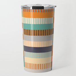 Fall Grandmother's Quilt Travel Mug