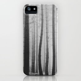 Outside the crowd iPhone Case