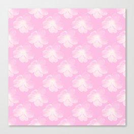 FLOWERS IN YOGHURT Canvas Print