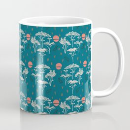 Mongolia Sunset Forest Coffee Mug