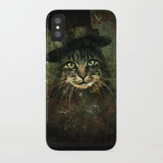 The other cat in the hat iPhone X Slim Case