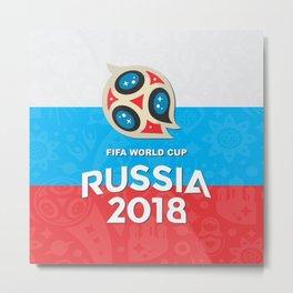 Russia world cup Metal Print