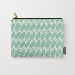 Background abstract green pattern 5, vector, texture design. Carry-All Pouch