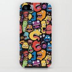 Monster Faces Pattern Tough Case iPhone (5, 5s)