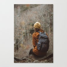 Here Waiting Canvas Print