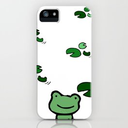 Hopping Along The Pond iPhone Case