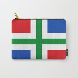 Flag of Groningen (province) Carry-All Pouch