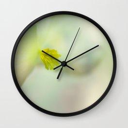 Mistery flower Wall Clock