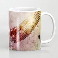 eagle Mugs featuring Eagle by ron ashkenazi