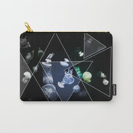 Jellyfish Triangles Carry-All Pouch