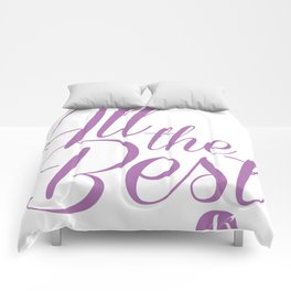 All the Best Comforters