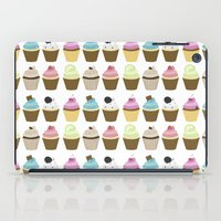 cupcakes iPad Cases featuring Cupcakes by heartlocked