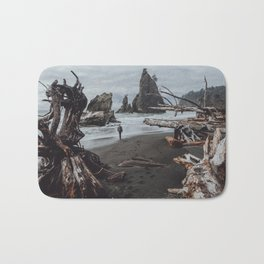 Olympic Coastline Bath Mat
