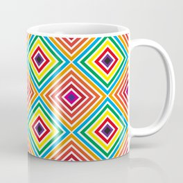 Colorful geometric pattern octagon Coffee Mug