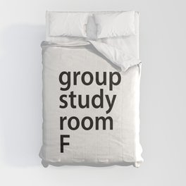 Group study room F Comforters