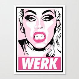 WERK! Canvas Print