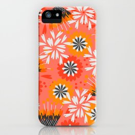 Sweet floral spring pattern iPhone Case
