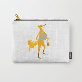 FOX MOTHER AND BABY Carry-All Pouch