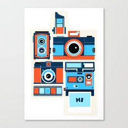 Say Cheese! Canvas Print